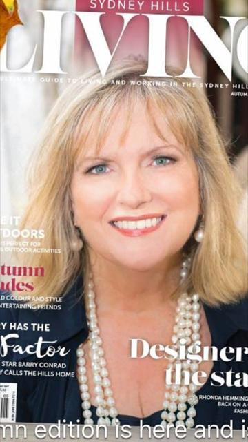 Rhonda Hemmingway Sydney Hills Living Magazine
